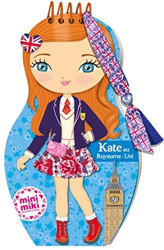 Minimiki - carnet créatif - Kate au Royaume-Uni (P.BAC MINI.CARN)