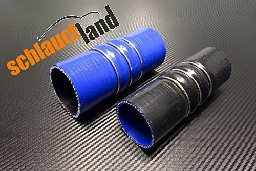 Flex Silikonschlauch ID 54mm schwarz*** Ansaugschlauch 0-30° Winkel Verbinder