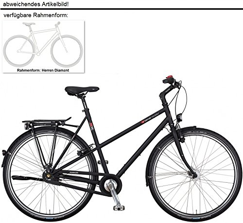 vsf fahrradmanufaktur T-XXL Nexus Premium FL Trekking Bike 2016 (Ebony, 28