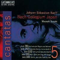 J.S.Bach Cantatas, Vol.5