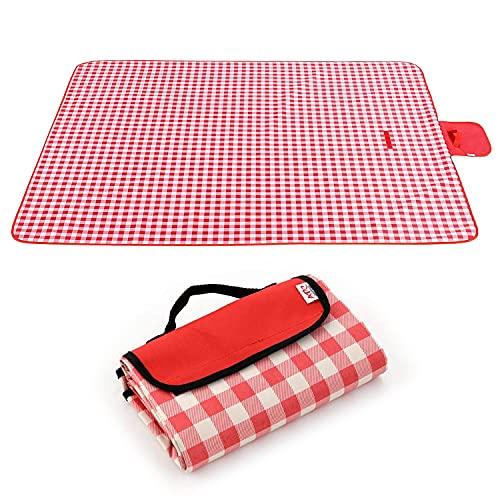 Manta de picnic grande 145x200cm Alfombra de picnic al aire libre con...