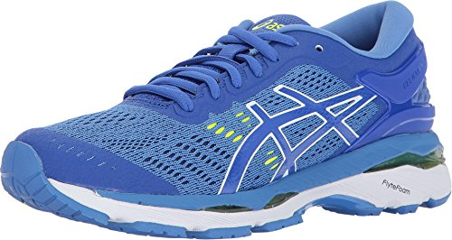 ASICS Womens Gel-Kayano 24 Running Shoe, Purple/Regatta Blue/White, 6.5 2A US