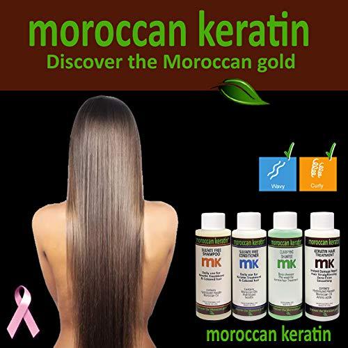 Moroccan Keratin Most Effective Brazilian Keratin Hair Treatment SET 120ML...