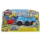 Hasbro Play-Doh- Wheels Play-Doh Autocarro Betoniera (playset con Pasta da Modellare Cemento e in 3 Colori atossici), E68915L1