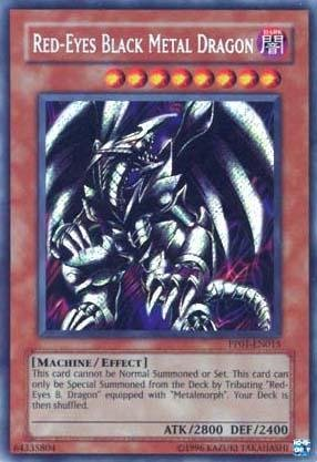 Yu-Gi-Oh! - Red-Eyes Black Metal Dragon (PP01-EN015) - Premium Pack 1 - Unlimited Edition - Secret Rare