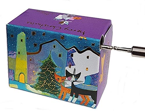 Fridolin Rosina Wachtmeister Spieluhr We Wish You a Merry Christmas Mini Drehorgel