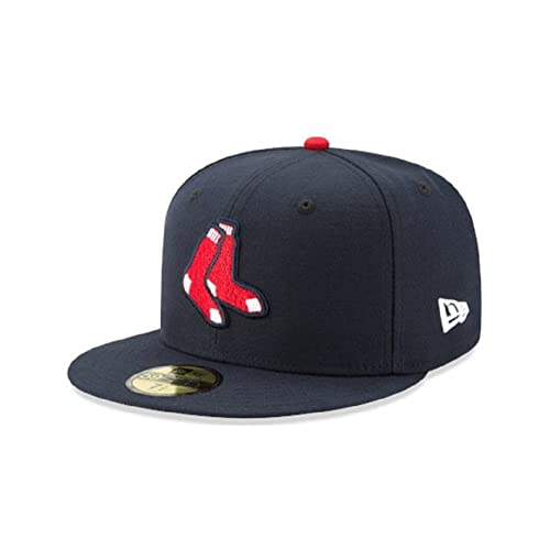 dcbba9a9f69b49 New Era 59FIFTY Boston Red Sox Navy MLB 2017 Authentic Collection On Field  Alternate Cap