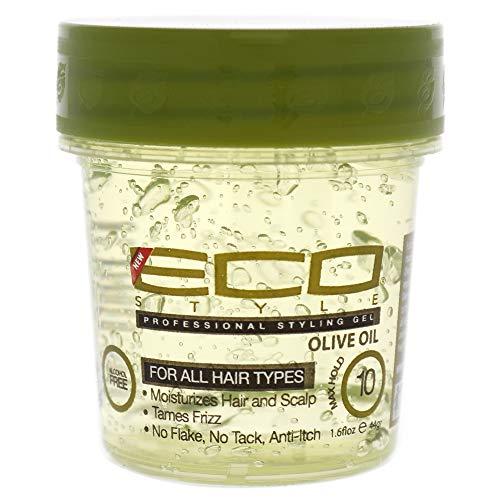 ECOCO Style Gel Huile d'Olive pour Unisexe 1,6 oz