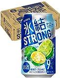 氷結ストロング ライムシークヮーサー 350ml ×24缶