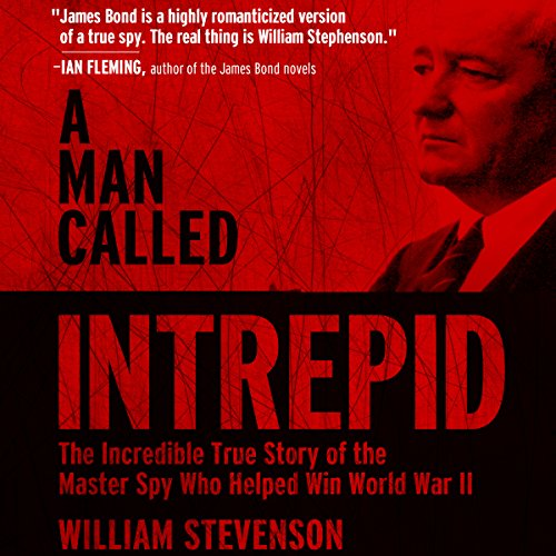 A Man Called Intrepid audiobook cover art