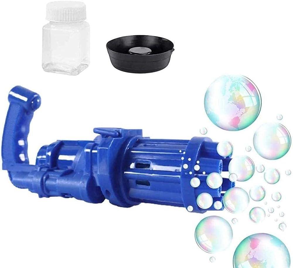 Gaohm 2pcs 8 Hole Bubble Making Gun,Cool Bubble Guns Outdoor, Bu