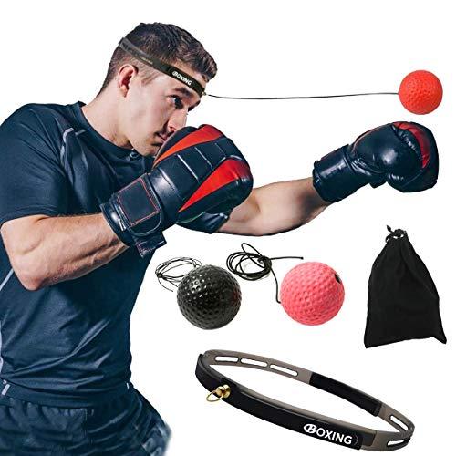 パンチングボール ボクシングボール トレーニング 練習用ボール 軽量 格闘技 反射神経 瞬発力 鍛え 自宅 ストレス解消 ENSYA