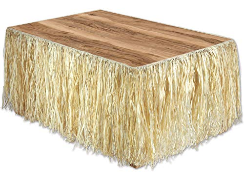 Best natural raffia table skirt for 2020