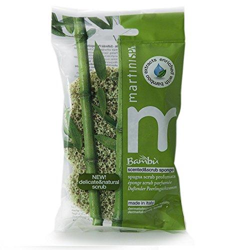 MartiniSPA Bambus-Schwamm mit Duft Scrub Bambus, 45 g