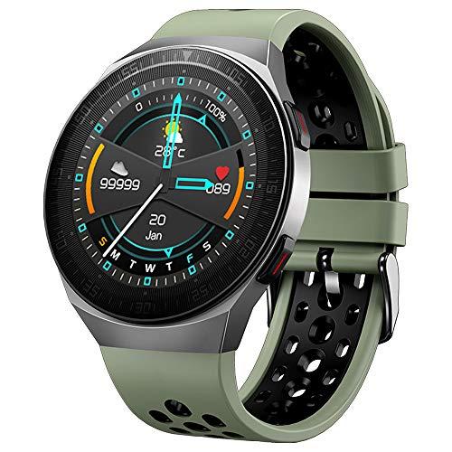 PANYUE Reloj Inteligente Pulsera Inteligente de Música Mt3 Pantalla Táctil de Memoria de 8G Monitor de Actividad Impermeable Ip67 con Monitor de Ritmo Cardíaco Contador de Calorías