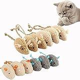 DRSFF Pack de 12 juguetes de menta para gatos, juguete interactivo para gatos, juguete divertido para gatos que ofrece a los amantes de los gatos