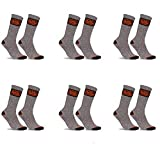 Black+Decker Working Man PK1841 Talla 39/42: Black&Decker-Pack 6p Calcetines Black+DECKER-Gris-50% algodón 47% poliéster 3% Poliamida, Gris, Hombre