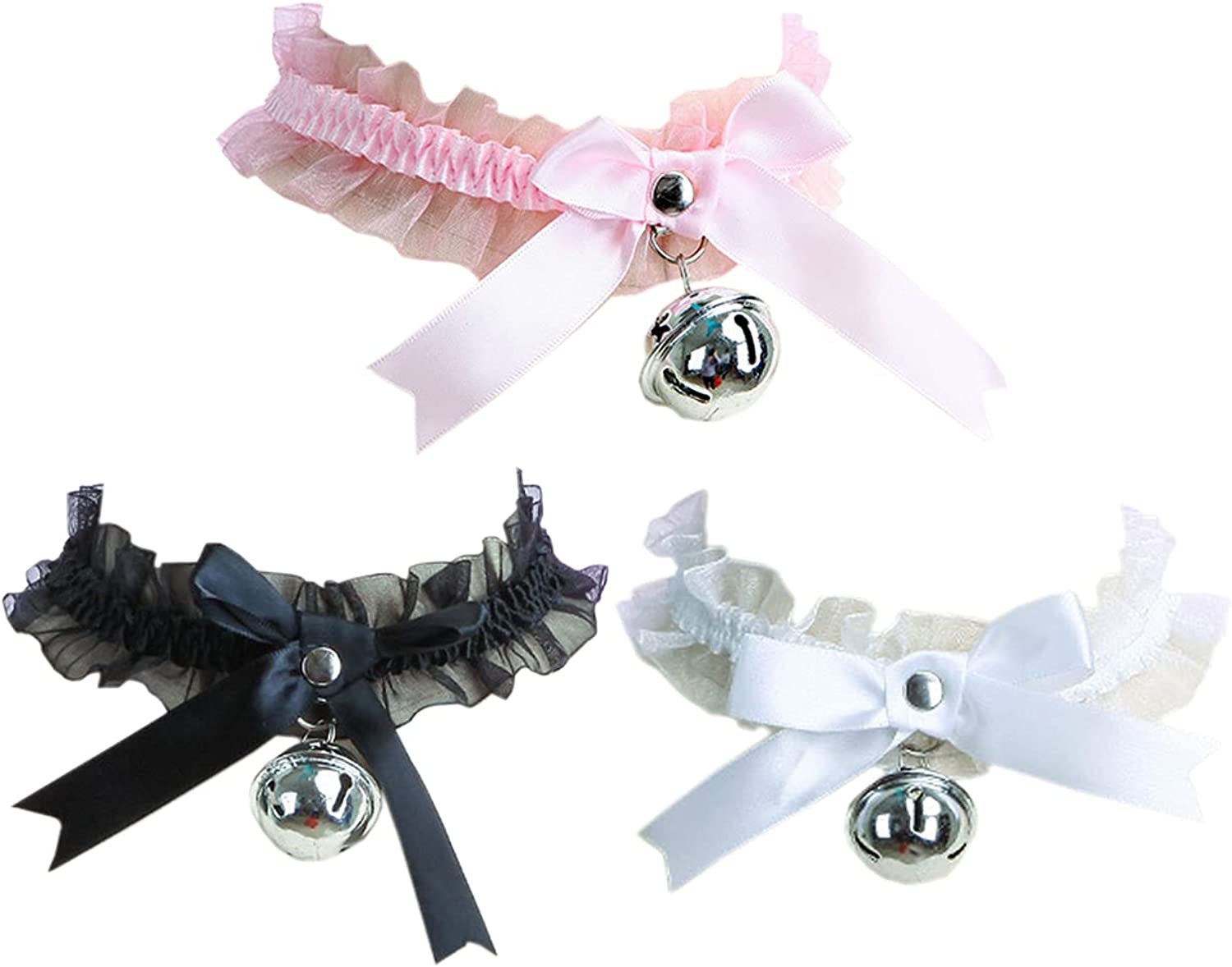 Punk Choker Gothic Tattoo Chokers Necklace Set for Women and Girls
