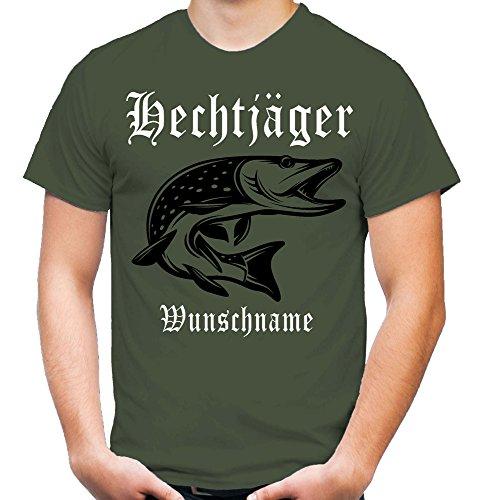 Hechtjäger T-Shirt | Angler | Hecht | Angeln | Fishing | Fischen | Fun | M1 (XL)