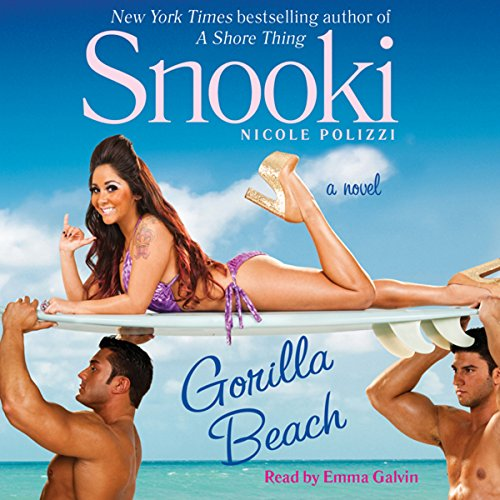 Gorilla Beach audiobook cover art