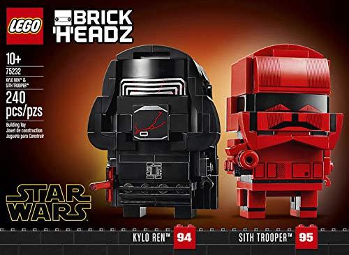 LEGO BrickHeadz Star Wars Kylo Ren & Sith Trooper Building Kit
