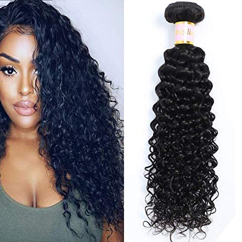 Brazilian Kinky Curly Virgin Hair 1 Bundle Brazilian Curly Hair 8A 100% Unprocessed Brazilian Kinky Curly Virgin Hair Extensions 100g/pc Natural Black Color(24inch)