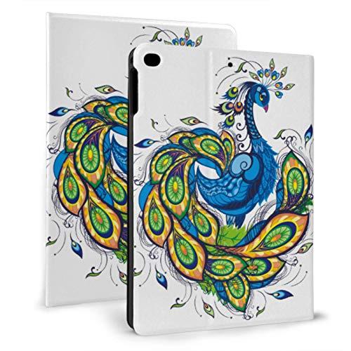 Soft Ipad Cover Elegant Romantic Beautiful Peacock Ipad Waterproof Case For Ipad Mini 4/mini 5/2018 6th/2017 5th/air/air 2 With Auto Wake/sleep Magnetic Pretty Ipad Case