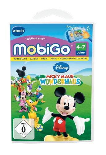 Vtech 80-250504 - MobiGo Lernspiel Micky Maus Wunderhaus
