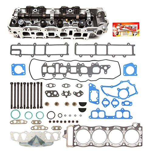 Price comparison product image Fits 85-95 Toyota 22R 22RE 22REC 2.4 SOHC 8V Complete Cylinder Head Gasket w / Head Gasket Set Head Bolts