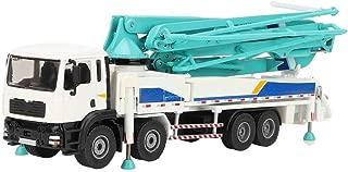 Concrete Pump Model Car, Children Alloy Concrete Pump Model Car Truck Engineering Vehicles Toy for Kids Gift
