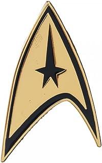 Star Trek Command Gold Lapel Badge Pin