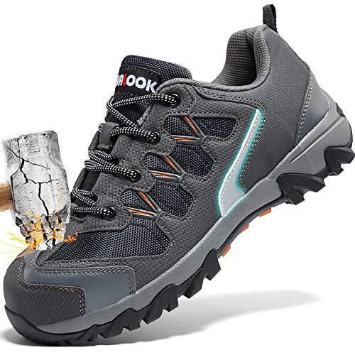 Zapatos Seguridad Hombre Puntera Acero Zapatillas