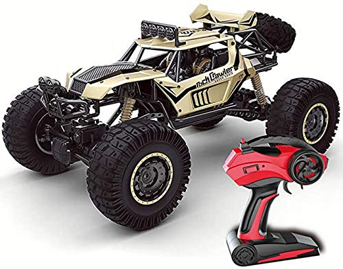 2.4Ghz Off-Road Remote Control Car Schaal 1:10 RC Car Wild Klimmen High Speed Toy Drift Car Monster Truck Electric Toy Double Motor Rijden Grote Auto,Gold