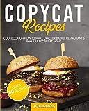 Copycat Recipes: Cookbook on How to Make Cracker Barrel Restaurant's Popular Recipes at Home.