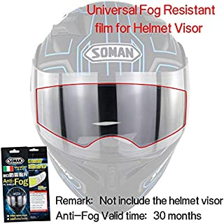 Leoie Universal Motorcycle General Antifogging Film for Motorcycle Helmet Lens
