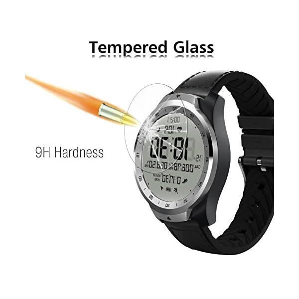 ivoler 4 Unidades Protector de Pantalla para Huawei Watch GT/Huawei Watch GT Active/Huami Amazfit Verge/Amazfit Verge… 2