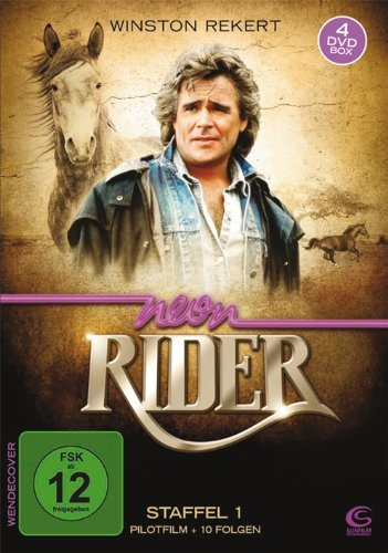 Neon Rider - Season 1 (Volume 1) - 4-DVD Box Set ( Neon Rider - (Pilot & 10 Episodes) ) [ NON-USA FORMAT, PAL, Reg.2 Import - Germany ] by Winston Rekert
