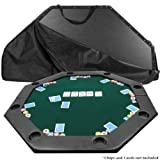 Best Poker Table Tops - 51 X 51 Inch Octagon Padded Poker Tabletop Review