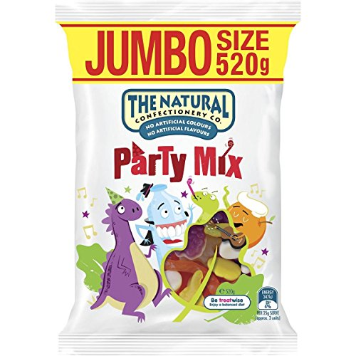 The Natural Confectionery Company Party Mix, Jumbo Size, 520g