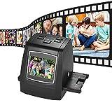 Protable Negative Film Scanner,14MP/22MP Negative Film & Slide Scanner Convert 35mm 135mm 126mm