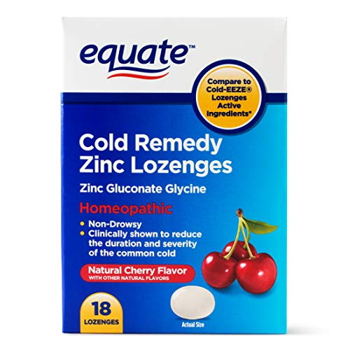 Evaxo Non-Drowsy Cold Remedy Zinc Lozenges, 18 Count.