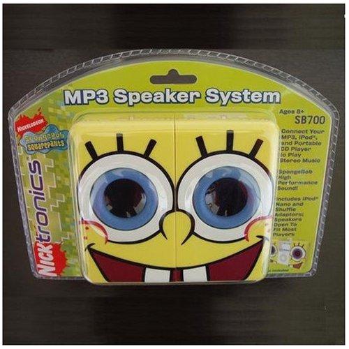 SpongeBob Squarepants MP3 Speaker System