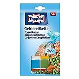 Melitta Toppits Gefrieretiketten, Kunststoff, bunt, 10x92x174mm, 60 -