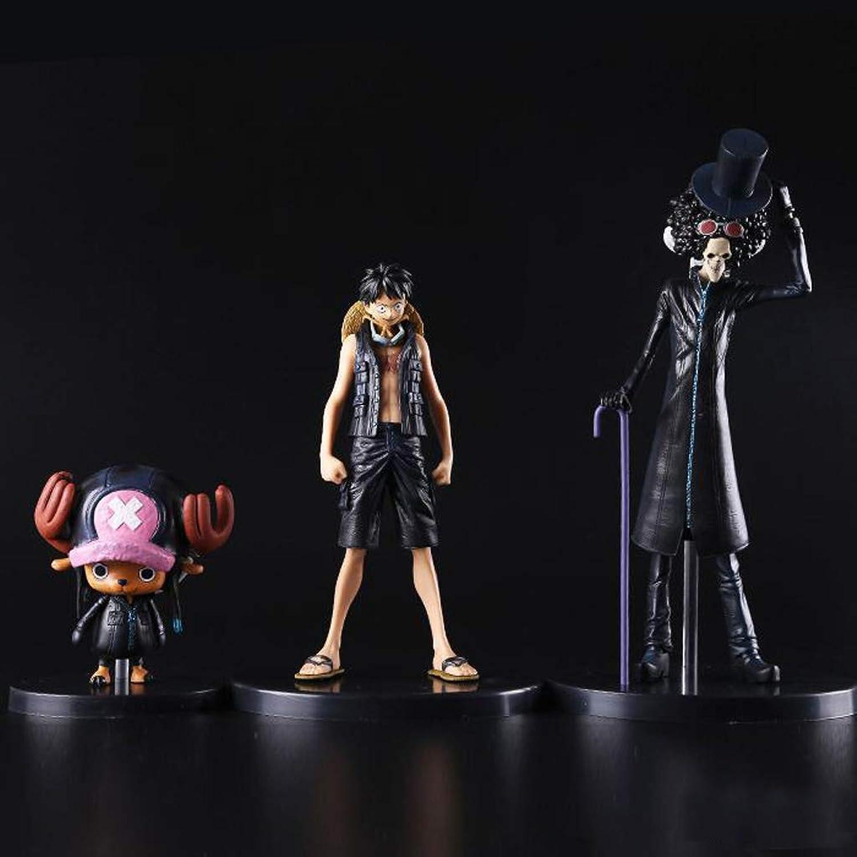 JSFQ Spielzeug Figur Spielzeug Modell Anime Charakter Kunsthandwerk Dekorationen Geburtstagsgeschenk 3 Stze Toy Statue