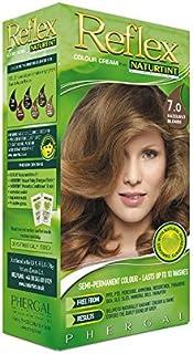 Naturtint Reflex Non Permanent Colour Rinse 7.0 Hazelnut Blonde (Pack of 2) - Naturtint反射非永久的な色7.0ヘーゼルナッツブロンドをすすぎます (x2) [並行輸入品]