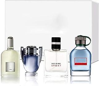 Męski zestaw perfum kolońskich, 4 x 25 ml Zestaw upominkowy z długotrwałymi perfumami Gentleman Liquid Perfume