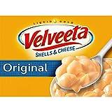 Velveeta Original Shells & Cheese Meal (12 oz Boxes, Pack of 6)