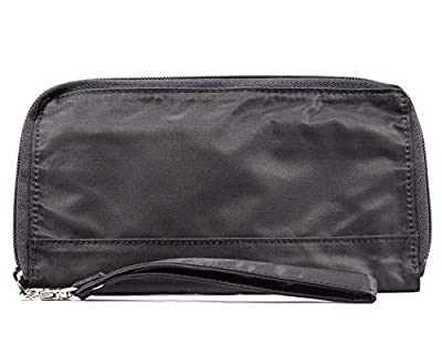 Big Skinny Women's Panther Clutch Slim Wallet, Holds Up to 40 Cards