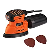 Tacklife PMS01A Multi Sander Orbital Sander / 130W 230V 50Hz 12000OPM / Equip Dust Collection System / 12pcs Sanding Disc Provided / Ideal Choice for Confined Spaces