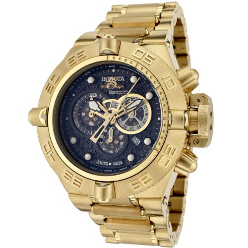 Invicta Men's 6553 Subaqua Noma IV Collection Chronograph 18k Gold-Plated Watch